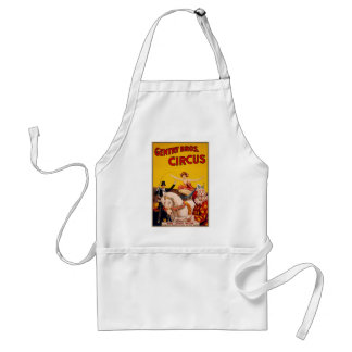 Circus Horse Adult Apron