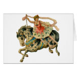 Circus Horse and Dancer Cards