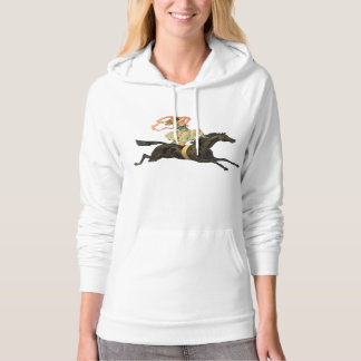 Circus Horse and Dancer Hoodie