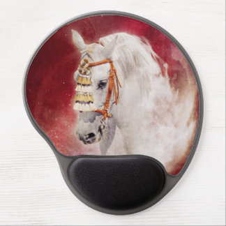 Circus Horse Gel Mouse Pad