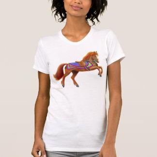 Circus Horse Ladies Petite T-Shirt