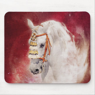 Circus Horse Mouse Pad