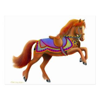 Circus Horse Postcard