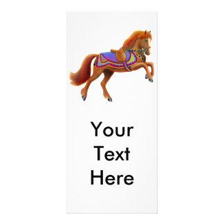 Circus Horse Rack Card