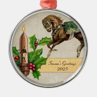 Circus Horse - Ringmaster - Holiday Ornament