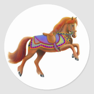 Circus Horse Sticker