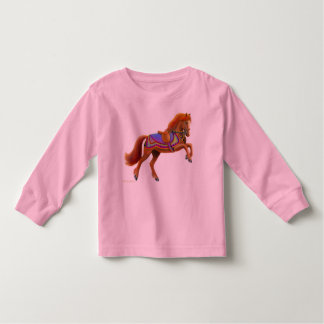 Circus Horse Toddler Long Sleeve Toddler T-shirt