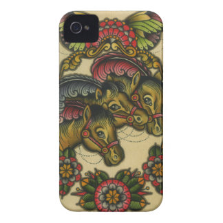circus horses iPhone 4 cover