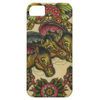 circus horses iPhone SE/5/5s case