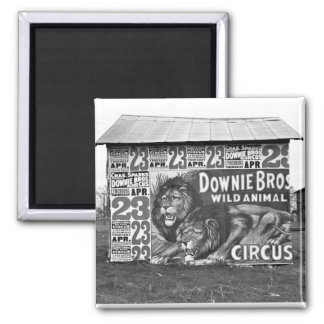 Circus in Tennessee 1930s Fridge Magnet