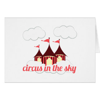 Circus in the Sky Card