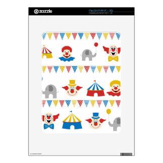 Circus iPad Decals