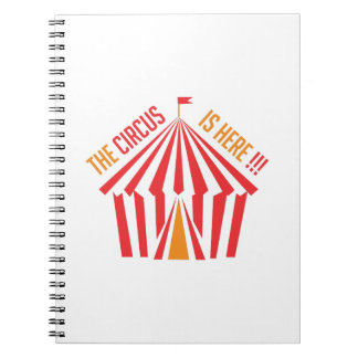 Circus is Here Notebook