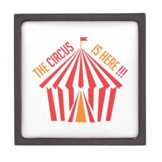 Circus is Here Premium Trinket Box