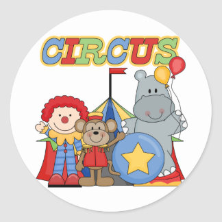 Circus is in Town Tshirts and Gifts Classic Round Sticker