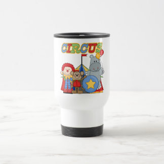 Circus is in Town Tshirts and Gifts 15 Oz Stainless Steel Travel Mug