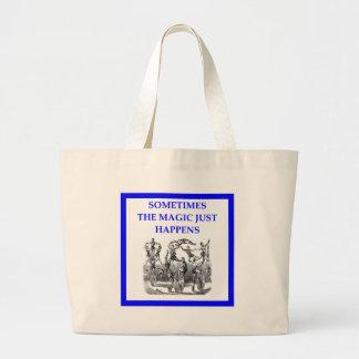 circus large tote bag