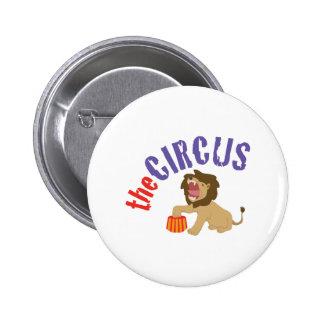 Circus Lion 2 Inch Round Button