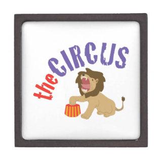 Circus Lion Premium Jewelry Boxes