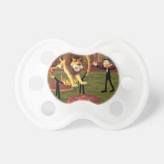 Circus Lion Ring Jump Pacifier