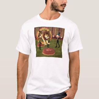 Circus Lion Ring Jump T-Shirt
