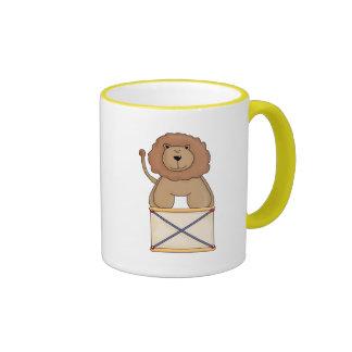 Circus Lion Ringer Mug