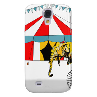 Circus Memorabilia In Memory of Circus Elephants Samsung Galaxy S4 Cover