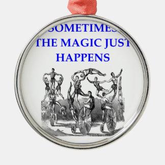 circus metal ornament