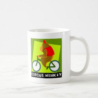 Circus Monkey Classic White Coffee Mug