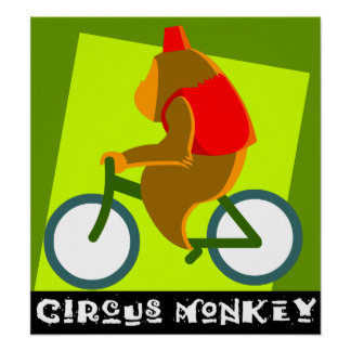 circus monkey posters