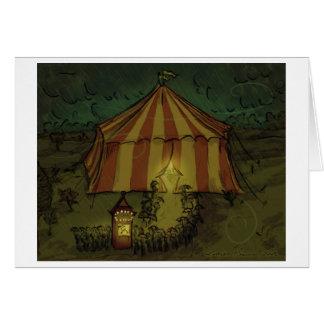 Circus Night Greeting Card