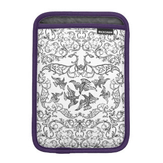 circus of birds sleeve for iPad mini