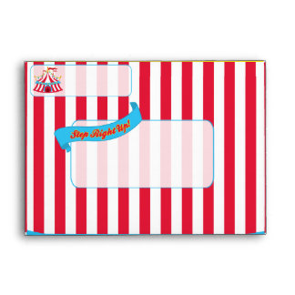 Circus or Carnival A6 Envelope
