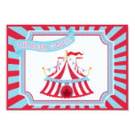 Circus or Carnival Tent - Thank You Cards Custom Invite