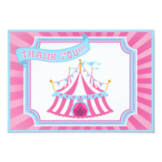 Circus or Carnival - Thank You Cards