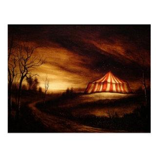 Circus Painting Postcard