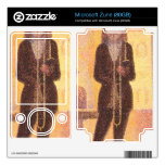 Circus parade by Georges Seurat Decal For Zune
