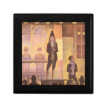 Circus parade by Georges Seurat Gift Box