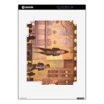 Circus parade by Georges Seurat iPad 2 Skin