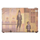 Circus parade by Georges Seurat iPad Mini Covers