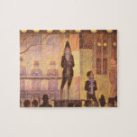 Circus parade by Georges Seurat Jigsaw Puzzles