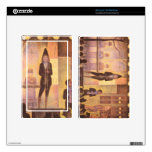 Circus parade by Georges Seurat Decal For Kindle Fire