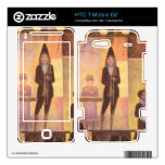 Circus parade by Georges Seurat Decal For HTC T-Mobile G2