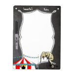 Circus Party Gifts Dry Erase Whiteboards
