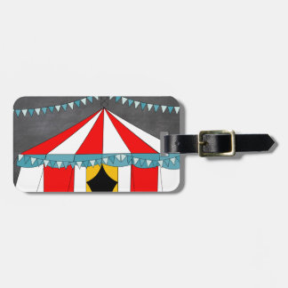 Circus Party Gifts Luggage Tag