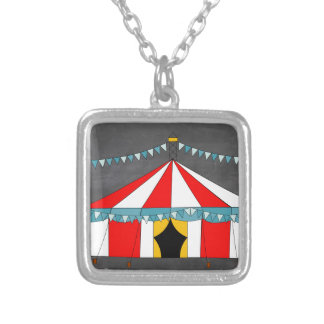 Circus Party Gifts Silver Plated Necklace