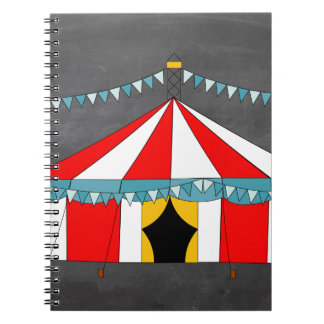 Circus Party Gifts Spiral Notebook
