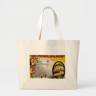 Circus Performance Vintage 1899 Poster Tote Bags
