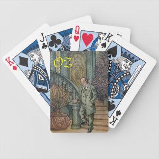 Circus Performer-Oscar Diggs. Bicycle Playing Cards