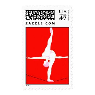 CIRCUS PERFORMER TIGHTROPE ARTIST STAMPS! POSTAGE STAMP